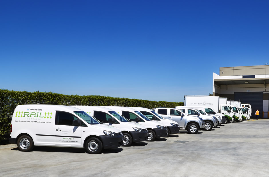 Thermo King Rail Australia Mobile Service Fleet
