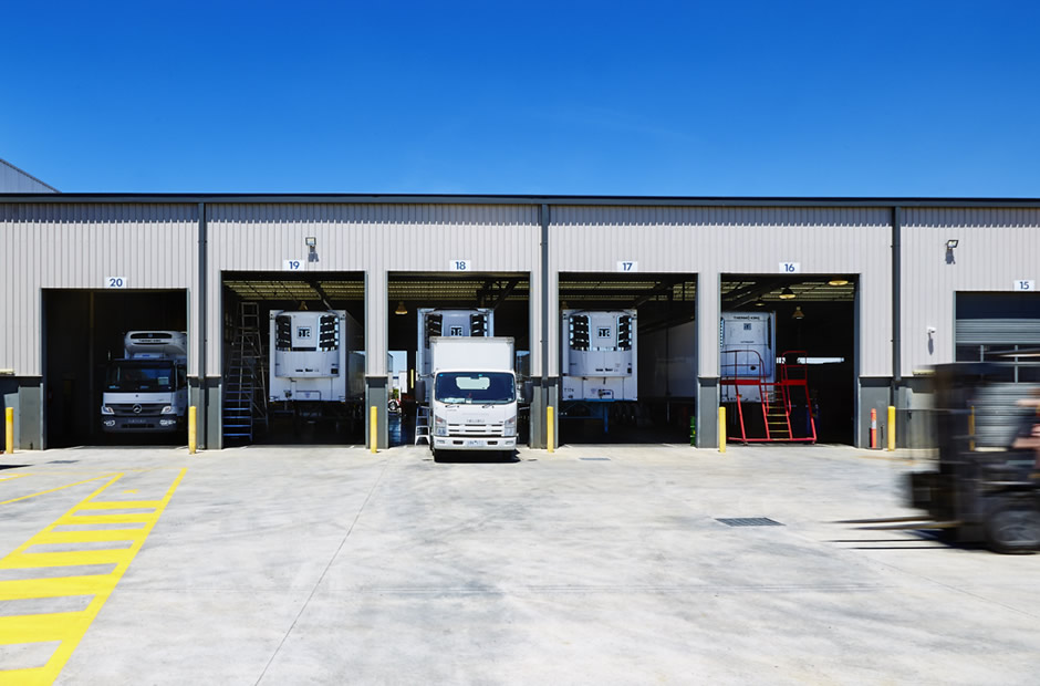 Thermo King Truck Service Bays