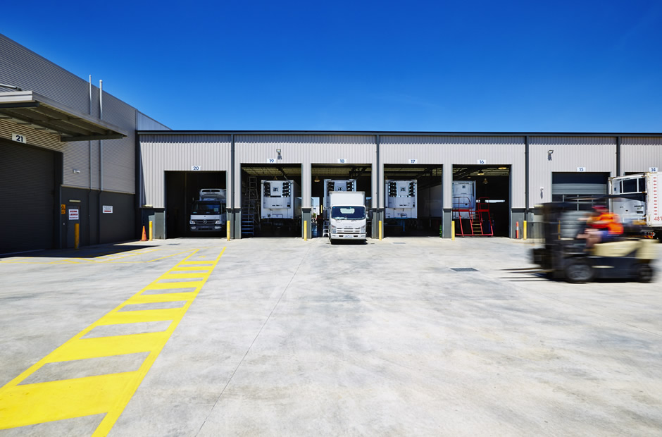 Truck Bays at Southern States Group
