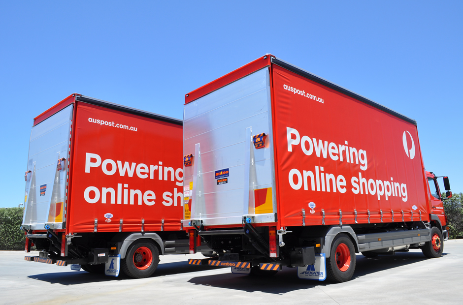 Anteo Tail lifts on Australia Post trucks