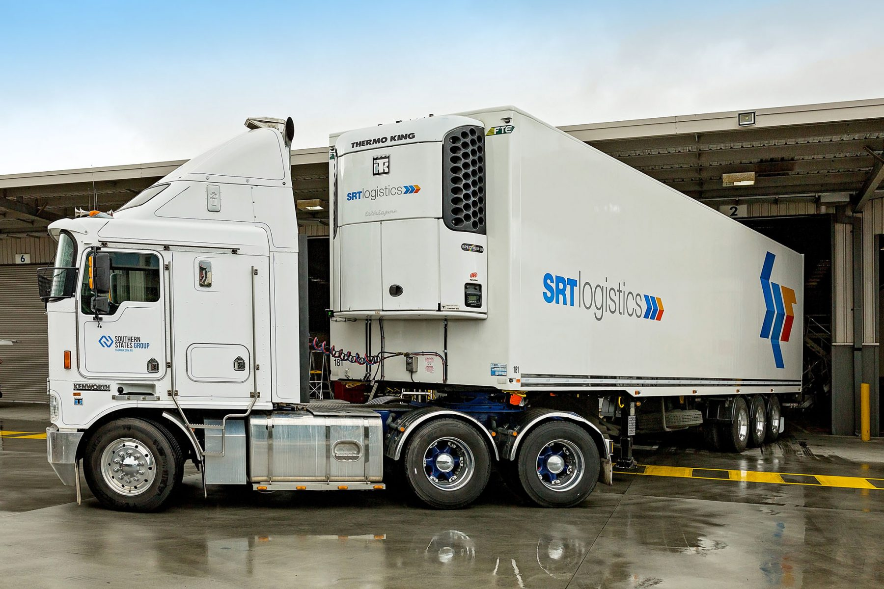 Thermo King unit on SRT Logistics Trailer