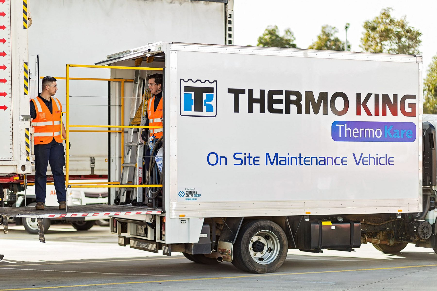 Thermo King maintenance vehicle