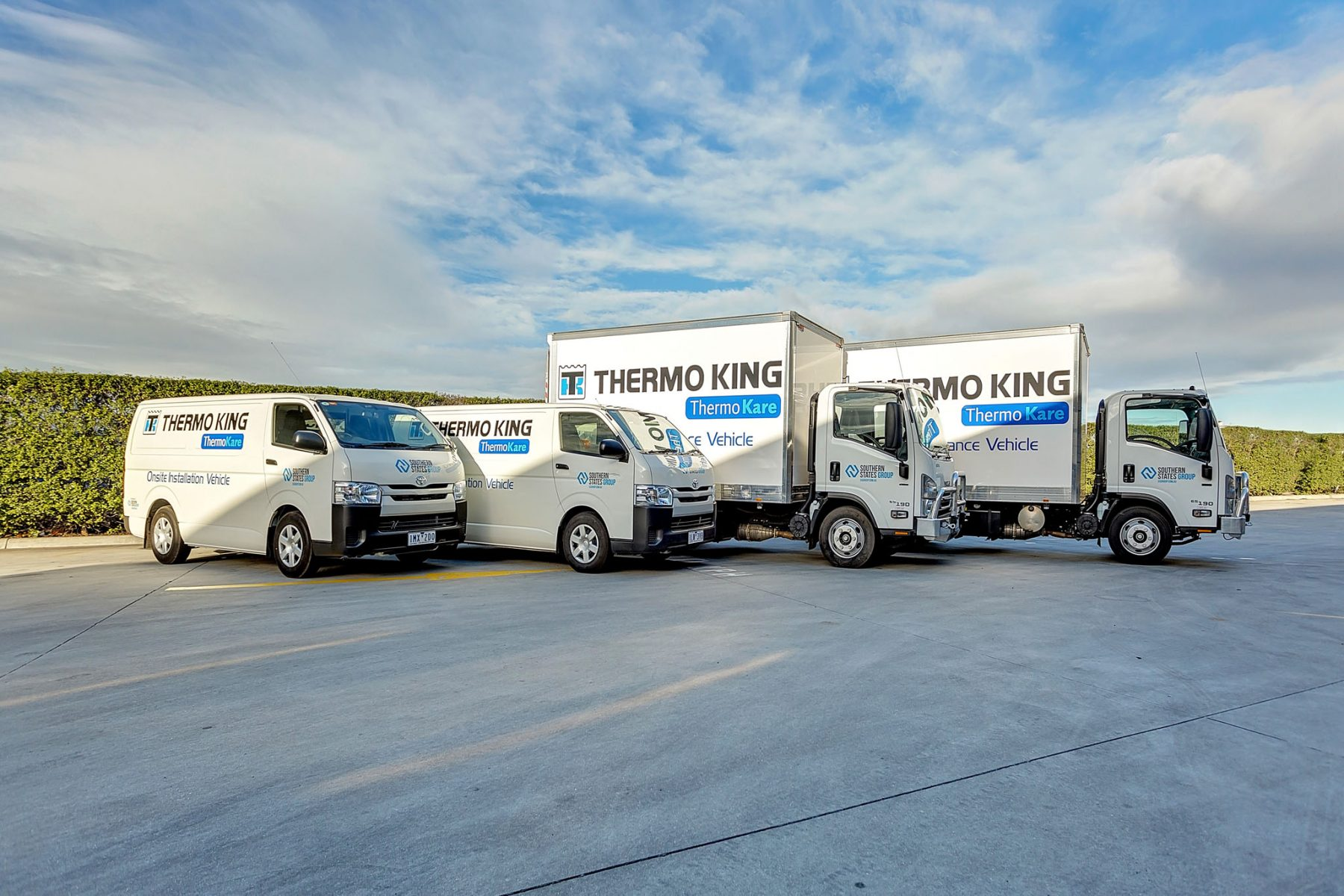On site maintenance vehicles - Thermo King
