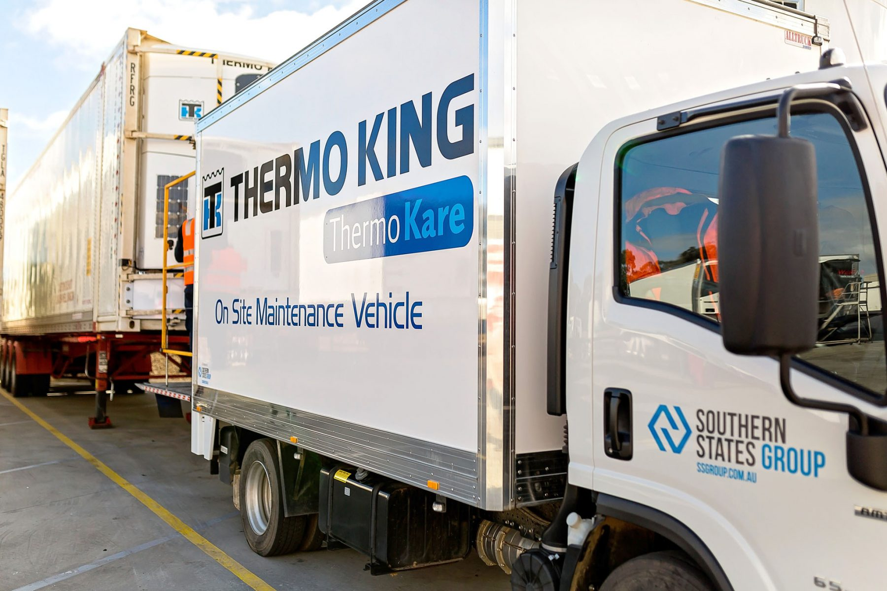 Thermo King On Site Maintenance Vehicle